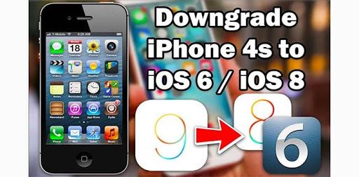 hạ cấp ios 9.3.5 xuống ios 7.1.2 dành cho iphone 4s