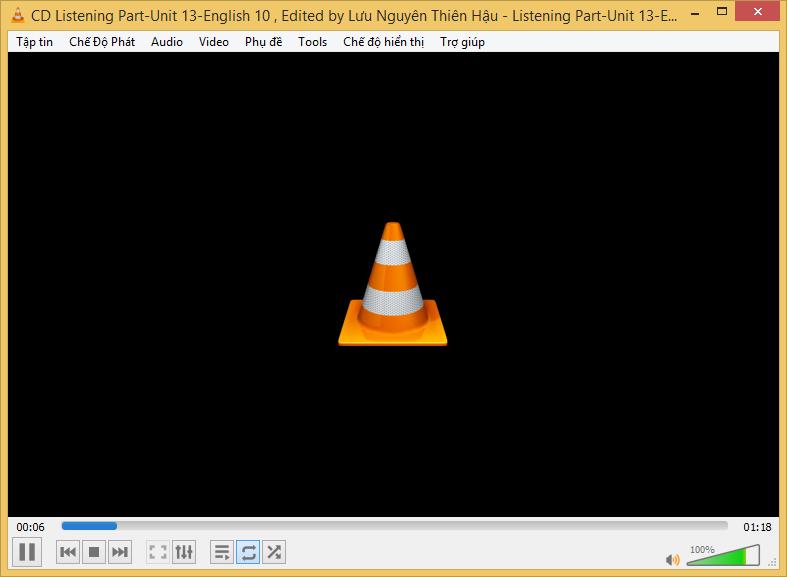 Cách cài đặt phần mềm nghe nhạc VLC media player