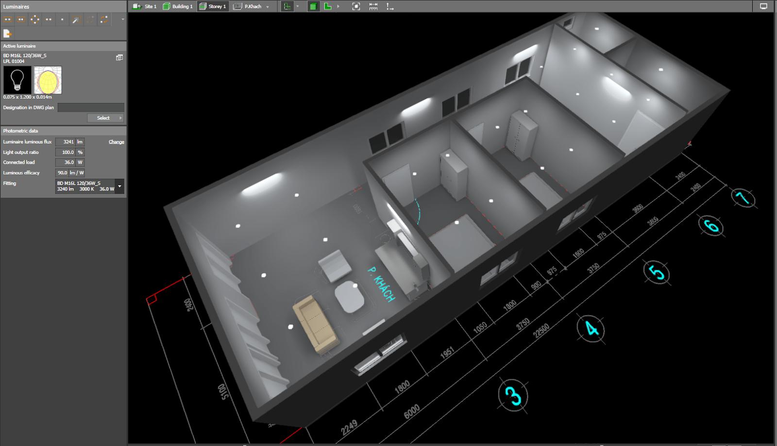 Dialux- thiết kế chiếu sáng miễn phí