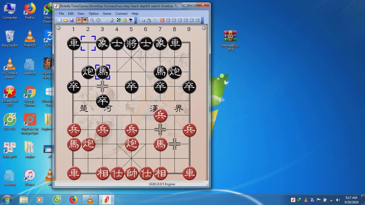Intella-phần mềm cờ tướng hàng đầu hiện nay