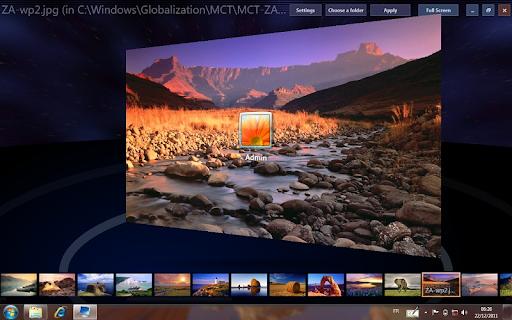 Phần mềm Windows 7 Logon Background Changer