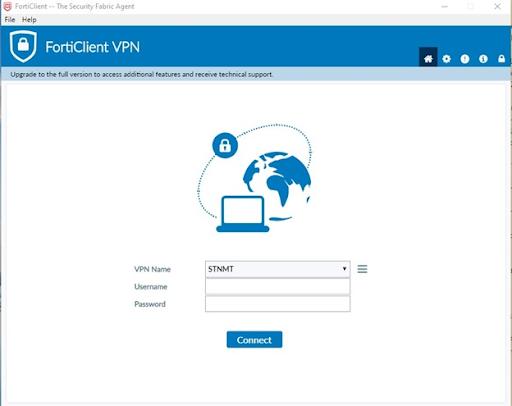 Phần mềm quản lý an ninh máy tính Forticlient