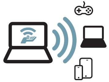 Phát wifi từ laptop win 8