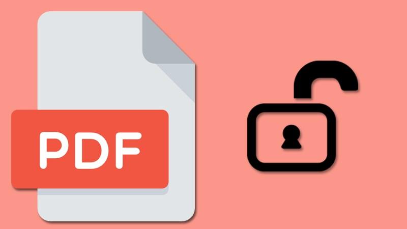 Phương pháp mở khóa file pdf không cho chỉnh sửa in ấn