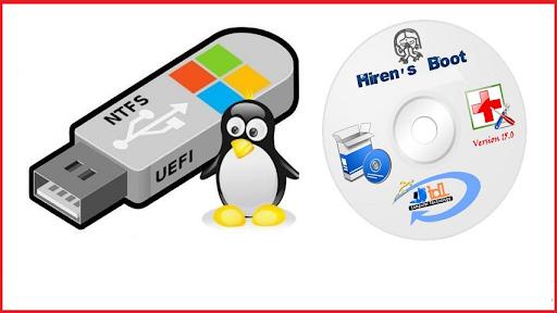 Tạo lập USB Boot bằng Hiren's Boot.
